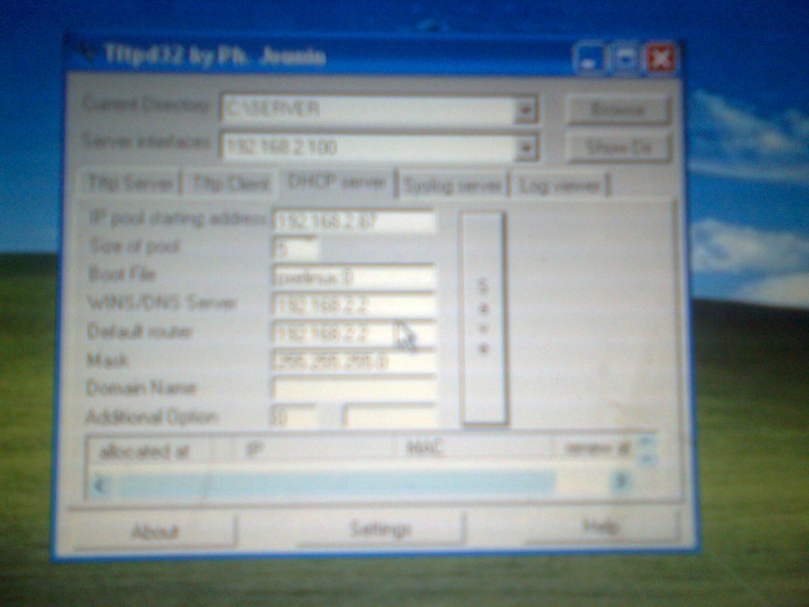 Install windows XP over LAN | iGoBlog